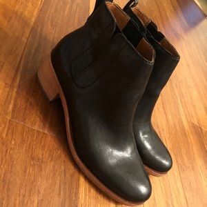 Kork-Ease Mindo Ankle Boots Black 7.5
